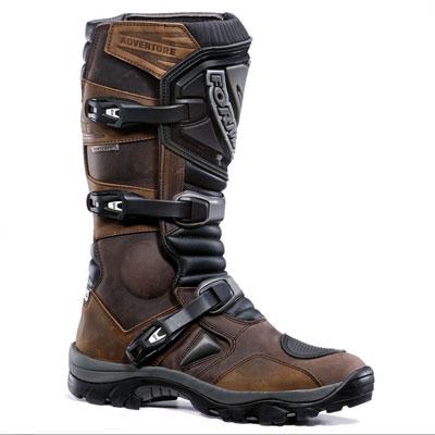 Forma Adventure Low Waterproof Leather Motorcycle Motorbike Boots Brown 45