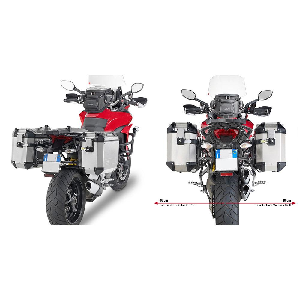 Givi Plr7406cam Portavalige Laterali Ducati Multistrada 2015
