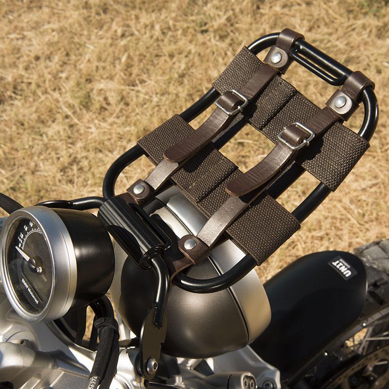 Unit Garage Front Luggage Rack Nine-t UG-2004 Bag Supports