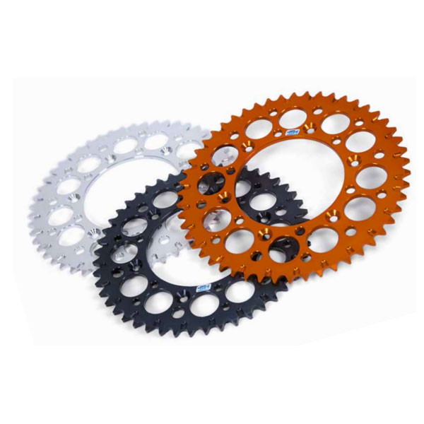 Motocross Marketing Ergal Sprockets R Series Honda Crf 04/16 Silver