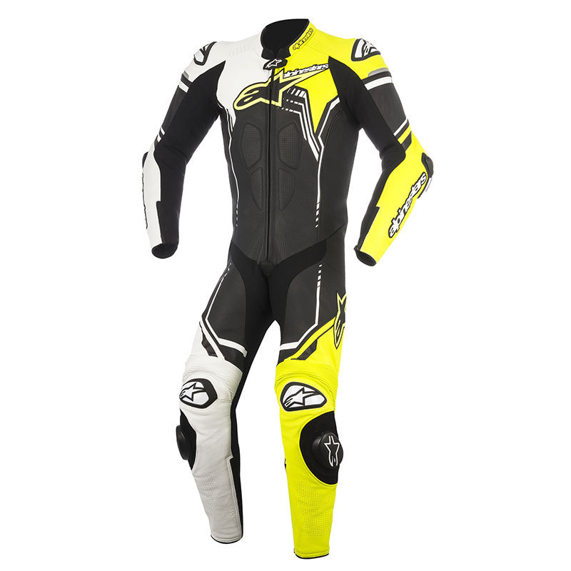 alpinestars gp plus v2 suit 1pc yellow motostorm. Black Bedroom Furniture Sets. Home Design Ideas