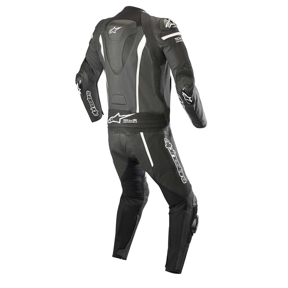 d004f336d Alpinestars Missile 2pc Leather Suit Tech-air Compatible Black White