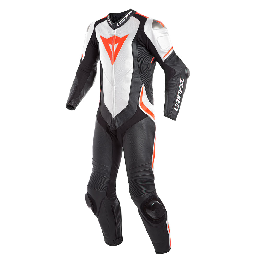 DAINESE Laguna Seca 4 Perforation suit weiss