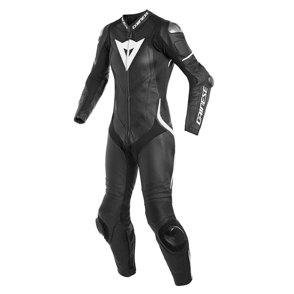DAINESE Laguna Seca 4 Perforation suit Lady schwarz weiß