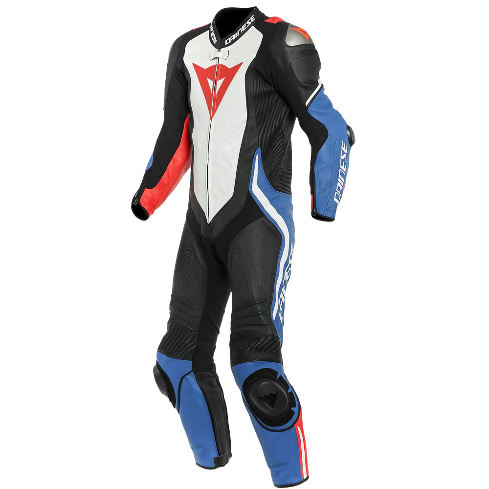 Dainese Laguna Seca 4 Perforated Suit White Blue