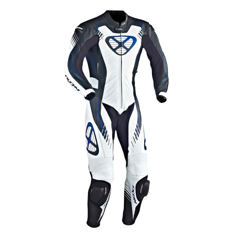 IXON Lederanzug STARBUST schwarz Weiss Blau