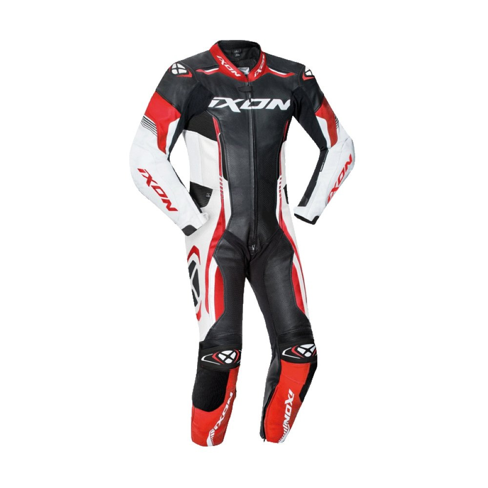 Ixon Vortex 2 Leather Suit Kid Red