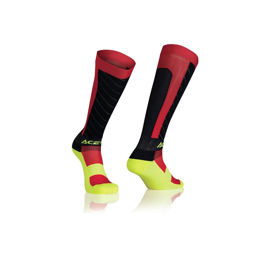 Acerbis Mx Compression Socks Blue Red