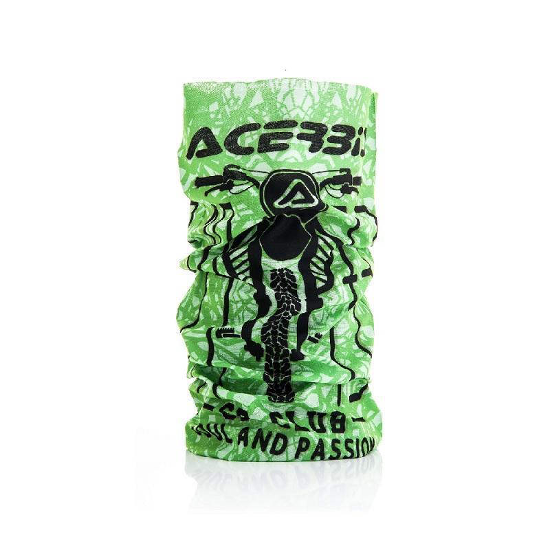 Acerbis Neck Warmer Sp Club Green Black