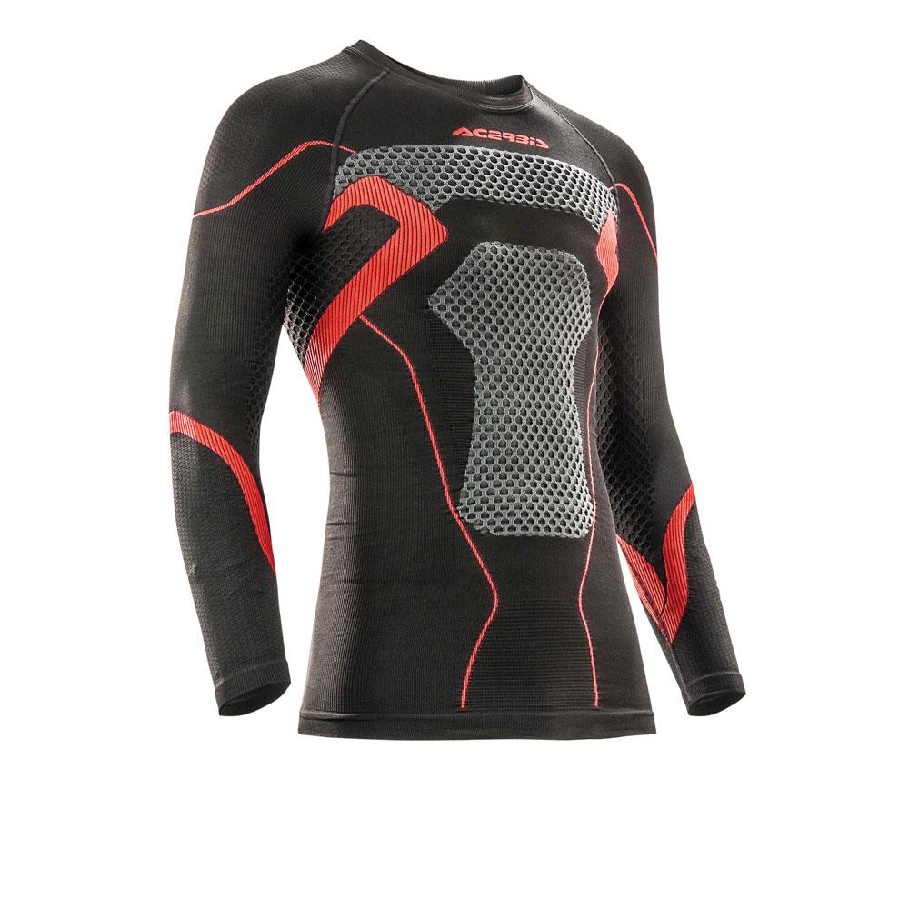 Acerbis X-body Winter Black Red Jersey Underwear