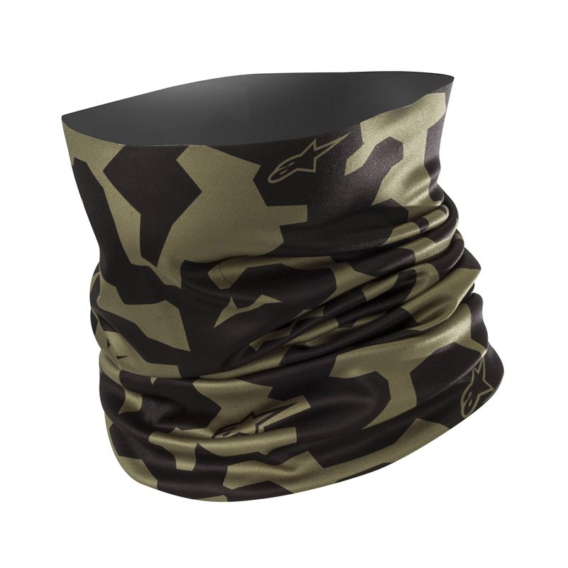 Alpinestars Camo Neck Tube Militärgrün