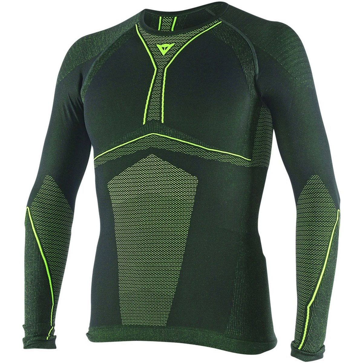 Dainese D-core Armor Tee Ls Fluo Yellow