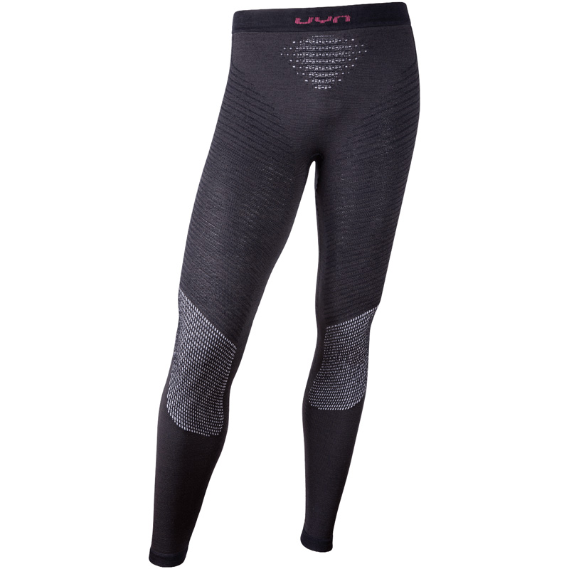 Uyn Fusyon Underwear Pants Long Grey Bordeaux