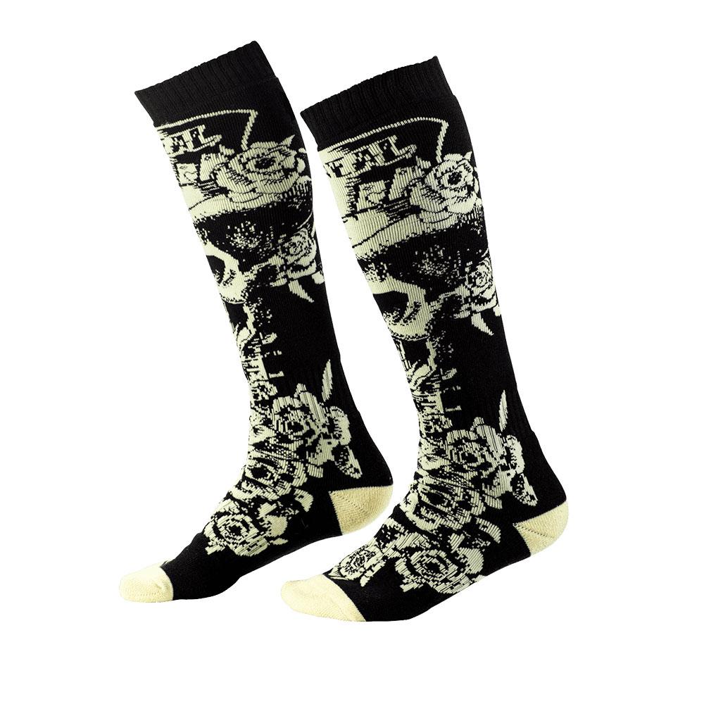 O Neal Pro MX Tophat Socken schwarz beige