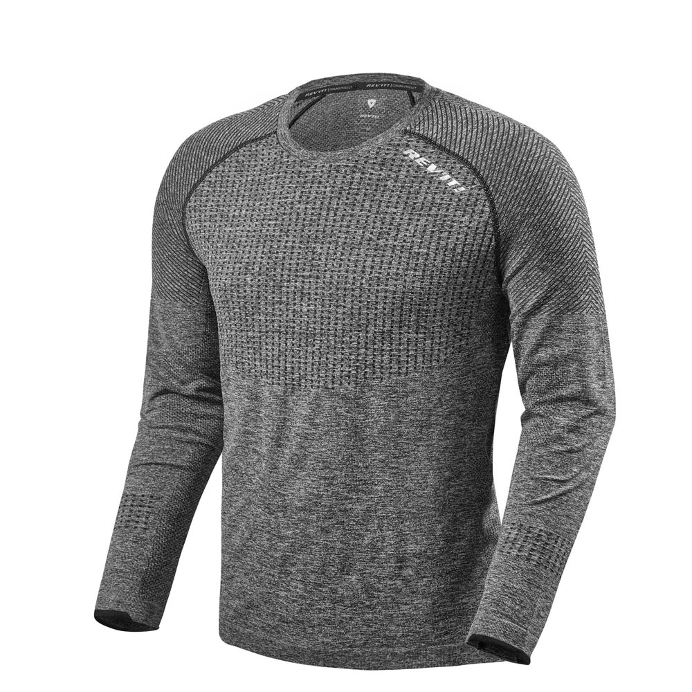 Rev'it Airborne LS Shirt grau