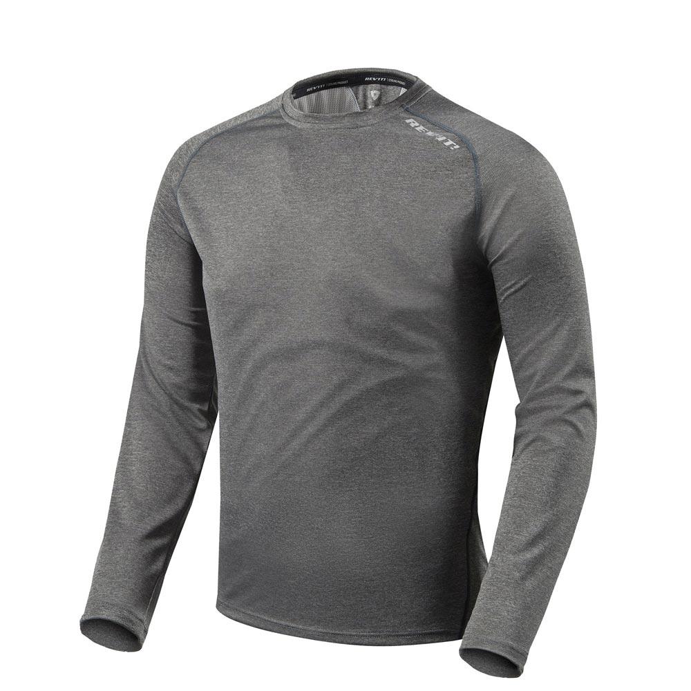 Rev'it Sky LS Shirt dark grau