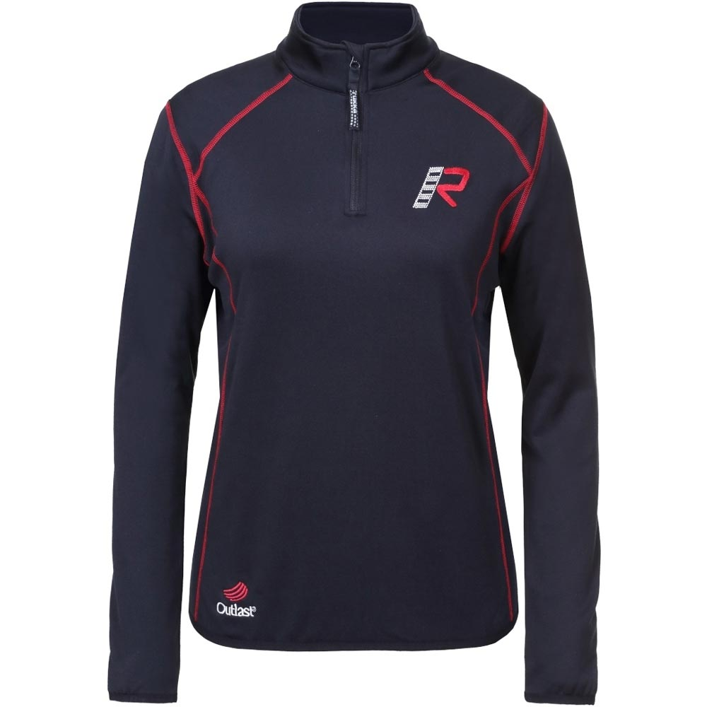 Rukka Kimb-R Damen Fleece Shirt schwarz