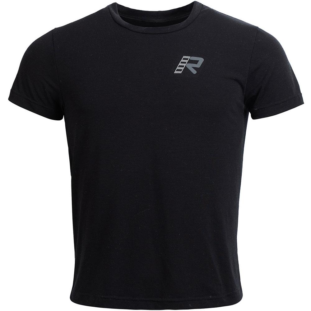 T-shirt Rukka Outlast Nero Grigio