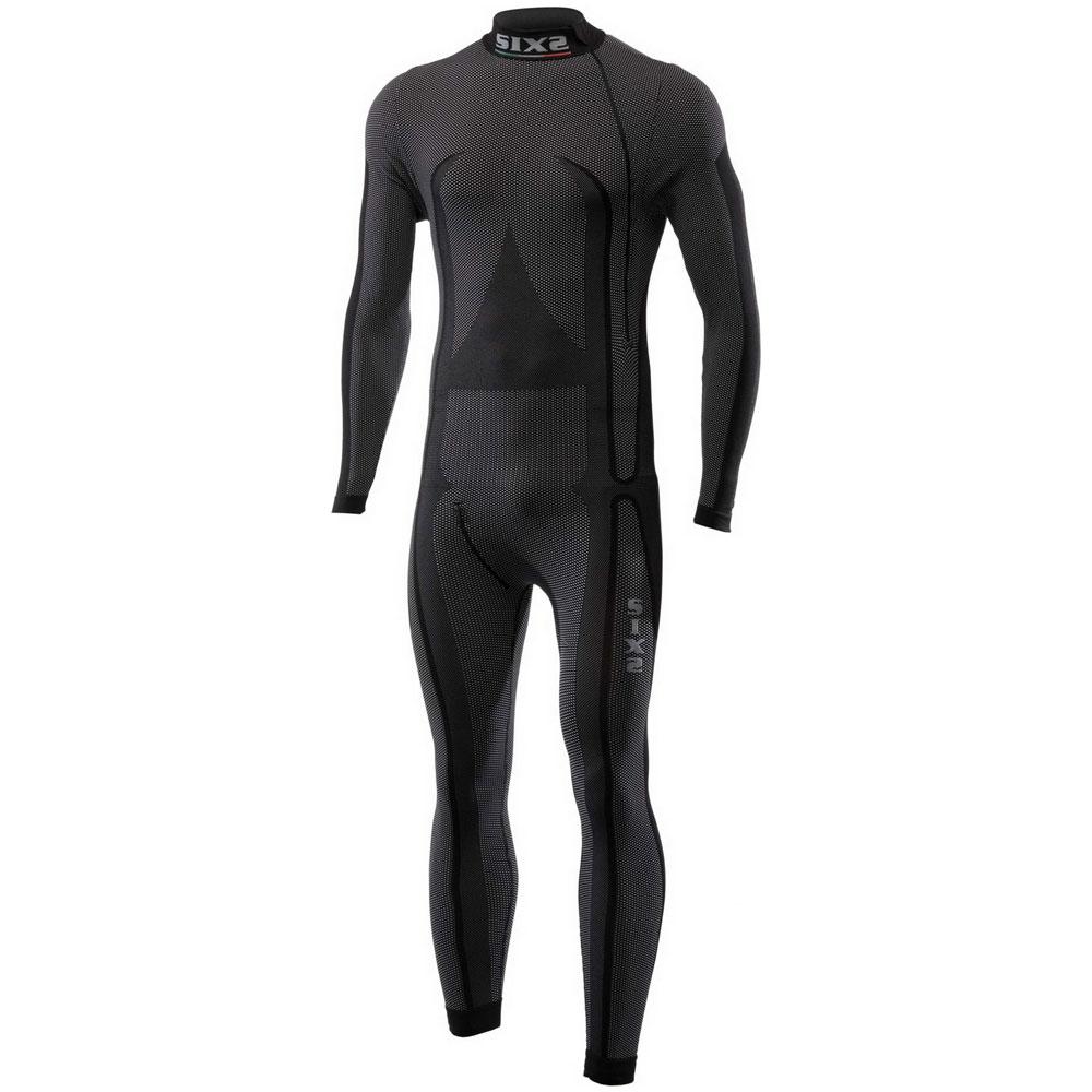 Six2 Sottotuta Lupetto Integrale Carbon Underwear