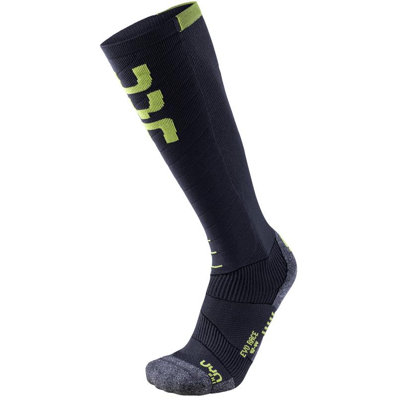 Uyn Ski Evo Race Socken anthrazit