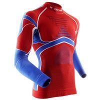 X-bionic Energy Accumulator® Evo Patriot Shirt Long Sleeves Norvegia