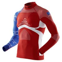 X-bionic Energy Accumulator® Evo Patriot Edition Shirt Long Sleeves Usa