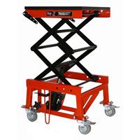 Innteck Hydraulic Workshop Lift Stand With Wheels