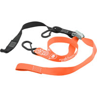 0'neal De Luxe Soft Hook Tiedown Logo Orange
