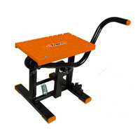 RACETECH FOOT LIFT BIKE STAND CROSS ORANGE