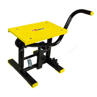 RACETECH FOOT LIFT BIKE STAND CROSS YELLOW