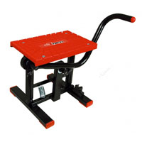 Racetech Foot Lift Bike Stand Cross Red