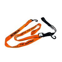 RACETECH TIE DOWNS W/SAFETY LOCK ORANGE