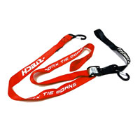 RACETECH TIE DOWNS W/SAFETY LOCK RED