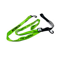 RACETECH TIE DOWNS W/SAFETY LOCK GREEN