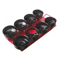 RMS 8PCS CUP OIL FILTER WRENCH SET