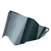 Agv Visor Scratch Resistant Dual1 Ax9 Mirror Silver