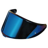 Agv Max K6 Pinlock Ready Visor Iridium Blue