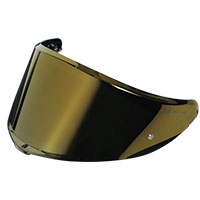 AGV Visor SP1 IRIDIUM SILVER for Helmet K6 Prepared for MaxVision 120 Pinlock