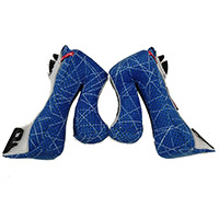 Airoh Aviator 2.3 Cheek Pads Blue White