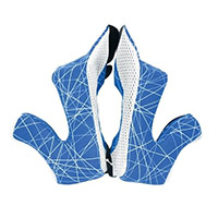 Guanciali Airoh Twist 2 Blu