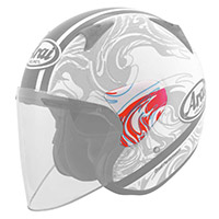 Arai Sz-f Side Pods Camo Lady