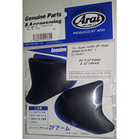 Arai Sz-f Side Pods Frost Black