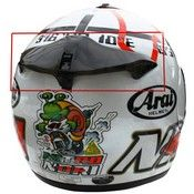 Arai Rear Air Conductor For Axces 2