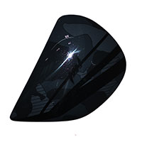 Arai Side Pods - J Type - Chaser-v Flag Blast