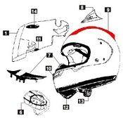 Diffuser Arai Rx7 Corsair - Sz Ram