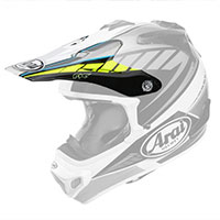 Arai Mx-v Peak Rumble Yellow