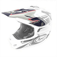 Arai Mx-v Peak Sly Red