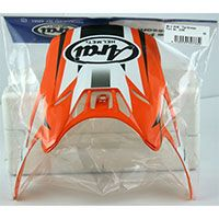 Arai Mx-v Peak Tip Orange