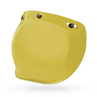 Bell Visor 3 Snap Bubble Yellow