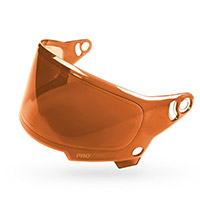 Bell Eliminator Visor Hi Def Persimmon Orange